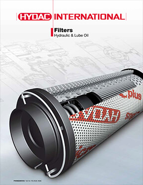 Hydac Catalog: Filters for Hydraulic & Lube Oil