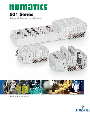 Asco/Numatics Catalog: 501 Series Solenoid Pilot Valve
