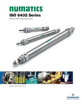 Asco/Numatics Catalog: ISO 6432 Series Cylinder