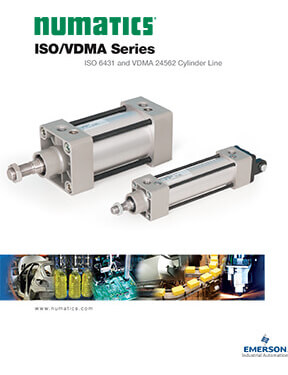 Asco/Numatics Catalog: ISO Series VDMA Cylinder