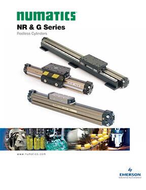 Asco/Numatics Catalog: NR&G Series Rodless Cylinder