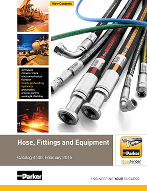 Catalogue Parker: Hose Fittings Equipment