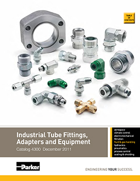 Catalogue Parker: Industrial Tube Fittings