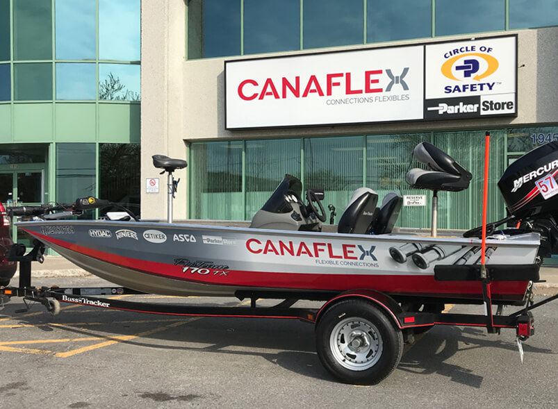 Blog post: Canaflex – Now on the water!